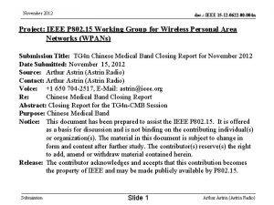 November 2012 doc IEEE 15 12 0622 00