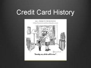 Credit Card History Beginnings of Consumer Credit 1890