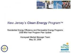 New Jerseys Clean Energy Program Residential Energy Efficiency