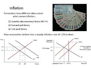 Inflation Economists have different ideas about what causes