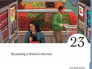 2007 Thomson SouthWestern Measuring a Nations Income Microeconomics
