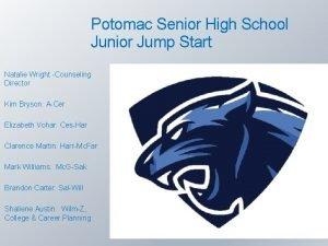 Potomac Senior High School Junior Jump Start Natalie