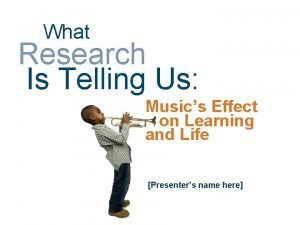 What Research Is Telling Us Musics Effect on