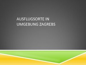 AUSFLUGSORTE IN UMGEBUNG ZAGREBS NATURPARK LONJSKO POLJE eins