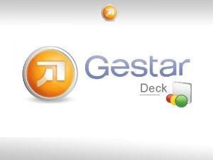 Deck DECK Suite DECK CONTROL Cmo vamos SCORECARDS