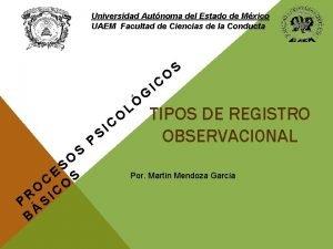 Universidad Autnoma del Estado de Mxico UAEM Facultad