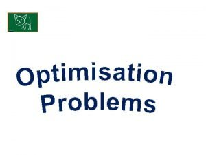 Optimisation problems KUS objectives BAT apply differentiation to