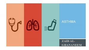 ASTHMA ZAID ALGHANANEEM OBSTRUCTIVE LUNG DISEASES Characterized by