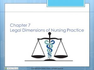 Copyright 2015 Wolters Kluwer All Rights Reserved Nurses