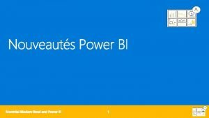 Mises jour Power BI mars juin Mises jour