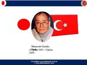 Masatoshi Gndz 25 Ikeda ubat 1925 9 ubat