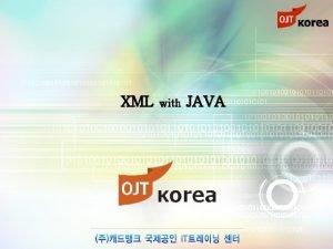 XML with JAVA chapter 07 XML xml xml