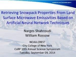 Retrieving Snowpack Properties From Land Surface Microwave Emissivities
