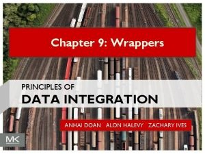 Chapter 9 Wrappers PRINCIPLES OF DATA INTEGRATION ANHAI