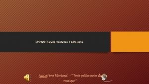 190920 Fredi festets F 125 szta Audio Yves