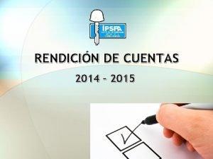 RENDICIN DE CUENTAS 2014 2015 DENSIDAD POBLACIONAL PENSIONADOS