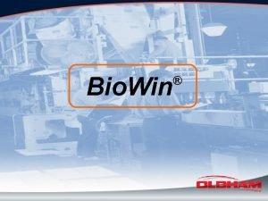 Bio Win Bio Win Bio Gas Analysis of