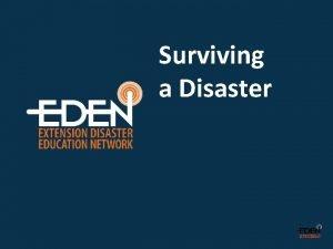 Surviving a Disaster NSSL NDSU Flickr Ktinsd NDSU