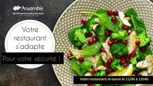 INFORMATIONS COVID19 Rouverture de votre restaurant Votre restaurant