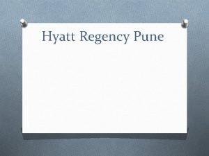 Hyatt Regency Pune Lobby Introduction O Hyatt Regency