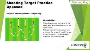Shooting Target Practice Opposed Attacking Play Purpose Shooting