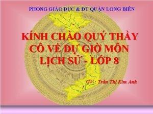 PHNG GIO DC T QUN LONG BIN KNH