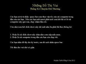 Nhng Th Vui Thng K Chuyn i Thng