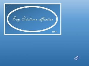 Day Crations rflexives 2014 Gregory Reid Wiseman est