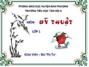 PHNG GIO DC HUYN AN PHNG TR NG