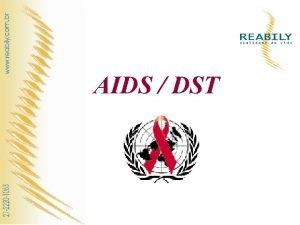 AIDS DST O que a AIDS A Sndrome