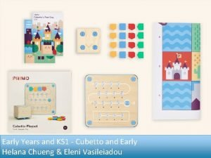 Early Years and KS 1 Cubetto and Early
