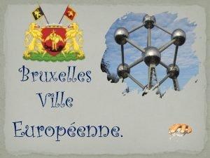 Bruxelles Ville Europenne Panorama du centre ville depuis