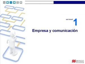 unidad 1 Empresa y comunicacin unidad 1 unidad