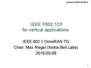 omniran18 0027 00 00 TG IEEE P 802