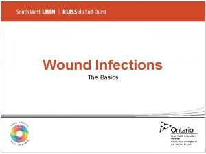 Wound Infections The Basics Overview Wound Infection Continuum