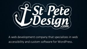 A web development company that specializes in web