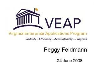 Peggy Feldmann 24 June 2008 Agenda Financial Management