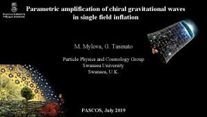 Parametric amplification of chiral gravitational waves in single