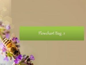 Flowchart Bag 2 Flowchart dibagi Menjadi 3 struktur