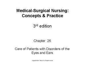 MedicalSurgical Nursing Concepts Practice 3 rd edition Chapter