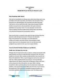 AUDIT INTERNAL TM 12 BERHUBUNGAN DENGAN ORANG LAIN