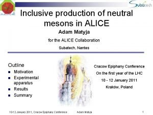 Inclusive production of neutral mesons in ALICE Adam
