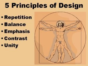 5 Principles of Design Repetition Balance Emphasis Contrast