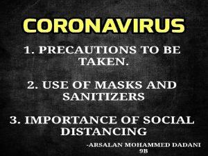 Coronavirus disease COVID19 is an infectious disease caused