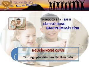 TIN HC C BN BI III CCH S