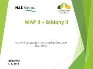 MAP II ablony II SETKN VEDOUCCH PRACOVNK KOL