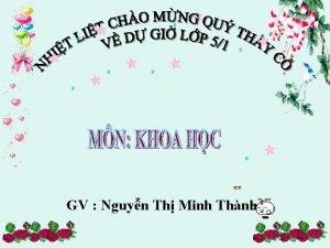 GV Nguyn Th Minh Thnh Th ba ngy