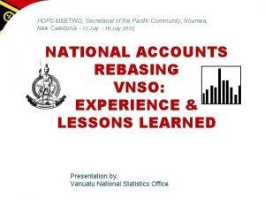 HOPS MEETING Secretariat of the Pacific Community Noumea