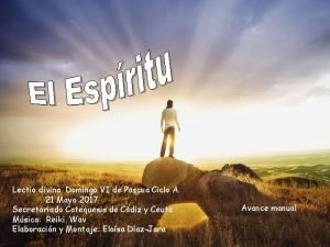 Lectio divina Domingo VI de Pascua Ciclo A