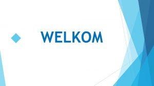 WELKOM Achterban overleg Commissie Brabant Oost Divisie 4